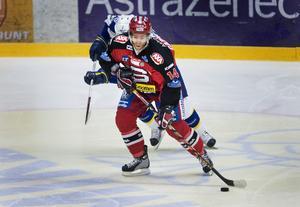 Robert Carlsson gjorde under säsongen 2006-07 hela 50 poäng för SSK. Bild: Marcus Ericsson/Bildbyrån.
