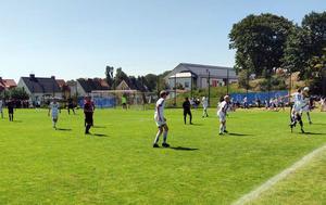 Friska Viljor förlorade 32-delsfinalen i Gothia Cup mot Hisingsbacka. Bild: Tommy Nordin