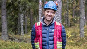 Hein Raat, arbetsledare och geolog vid företaget Eurasian Minerals Sweden AB.