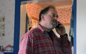 Bara att ha fri tillgång till sin telefon är en upplevelse för Anders Gunnarsson.