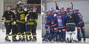 AIK och Bollnäs möts i premiären, i en match som visas på Bandypuls. Bilden är ett montage.