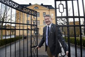 Lars Niklasson, rektor på Högskolan i Skövde, gläds åt att så många söker till högskolan i första hand i höst.
