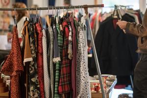 Flera säljare uppgav att just kläder var storsäljaren.