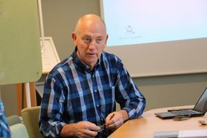 Lars Ferbe är projektchef för Vätternvatten, som ska ge vatten åt fem kommuner: Örebro, Kumla, Hallsberg, Laxå och  och Lekeberg.