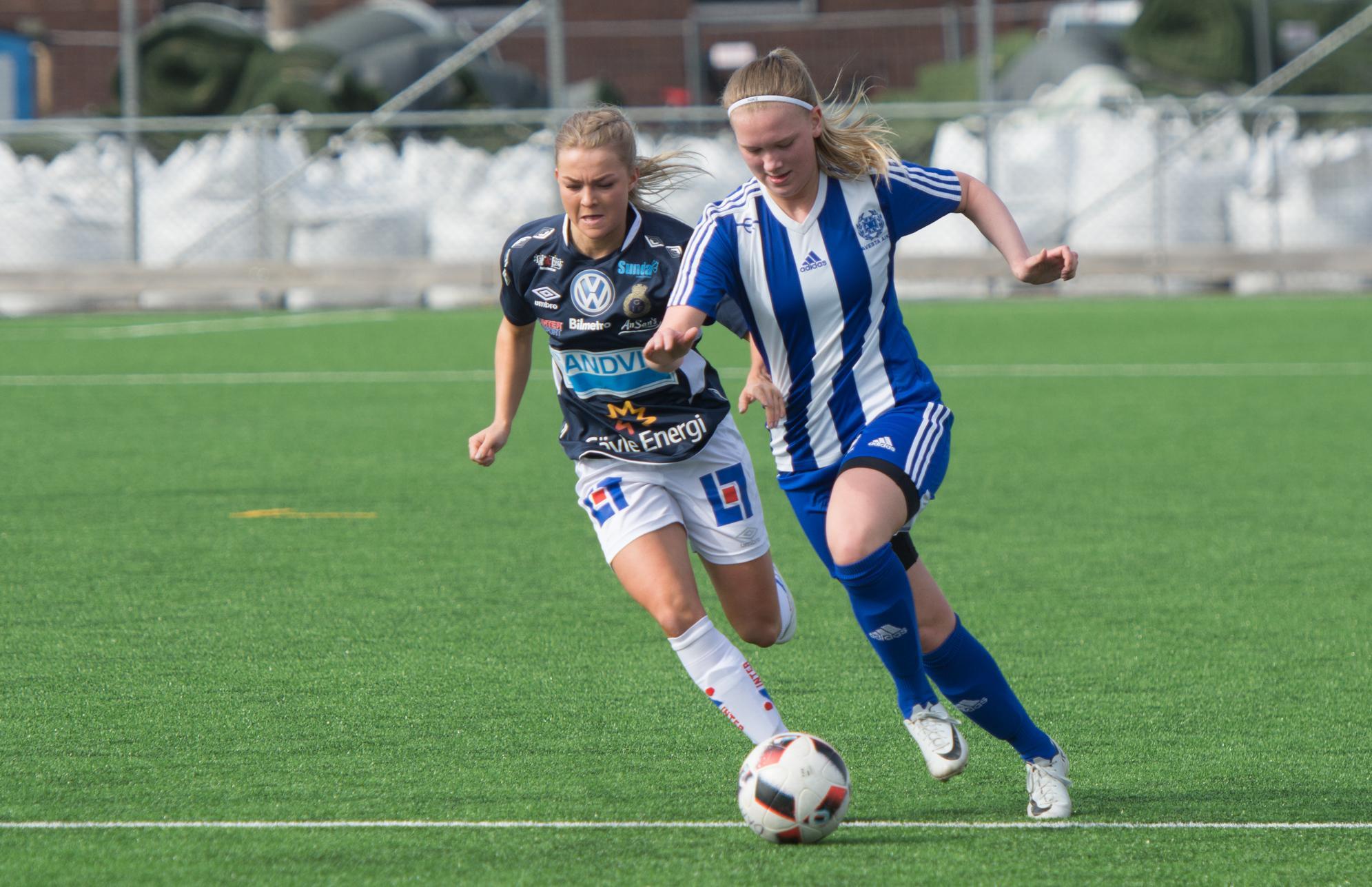 Vasbys andra raka seger mot ex allsvenskt lag