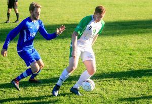 Bergsjös Olle Ek i en livesänd match mot Marma förra säsongen.