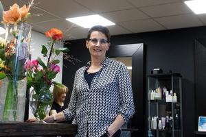 Inga-Lill Wester kan fira 50 år som frisör i Falun.