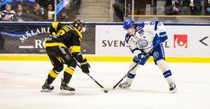 Första matchen i Slutspelsserien slutade med seger för Johan Porsbergers Leksand mot Jonas Liwings VIK.