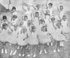 Ojojoj, sådana fina små balettflickor som dansade när Lea Dalbys balettskola hade säsongsavslutning i Eksjö i maj 1971.