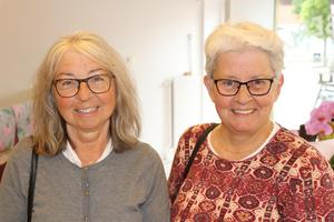 Svägerskorna Marianne Axelsson, Säter, och Laila Axelsson, Ånge, var väldigt glada över att saluhallen öppnat på torget. – Kul att det händer något nytt med denna lokal. Det är fantastiskt för hela Ånge med omnejd och ett superbra läge här på torget, säger Laila Axelsson.