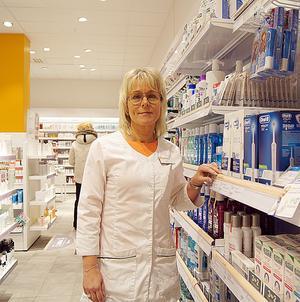 - Roligt och hedrande, tycker apotekschef Helen Wikström om placeringen i rankingen.