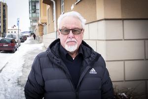 Ulf  Nyrén, avgående ordförande i Bollnäs Bostäder.