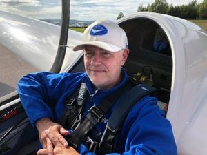 Per Leijström har utsetts till Årets segelflyglärare. Foto: Henrik Svensson