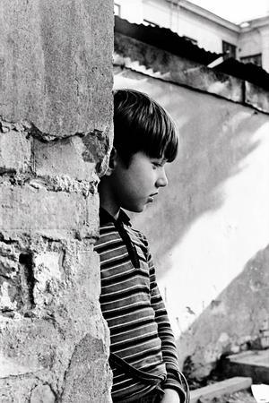 Profilbilden på pojken är en av Berths egna favoriter.