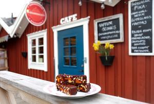 På Skärgårdscaféet har rawfood-fika blivit mer och mer populärt de senaste åren.