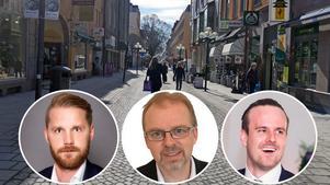 Mittmedia samarbetar med Östersunds lokala Swedbank- och Nordeakontor.