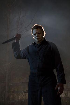 Den ikoniska skräckikonen Michael Myers från filmen Halloween. Foto: Universal Studios
