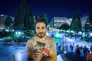 Apostolis Philippou, student och skulptör i Aten.