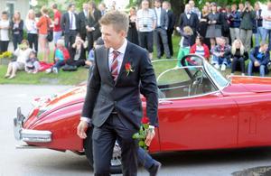 Jonathan Hansson åkte Jaguar.