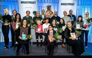 Foto: Claudio Bresciani/TTNågra av årets nominerade till Augustpriset. För många innebär priset en chans att nå ut bredare.
