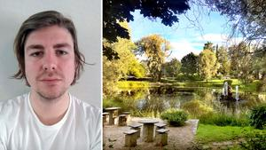 Vid Bünsowska tjärnen finns plats att reflektera för ST:s gästkrönikör Rasmus Pihl.