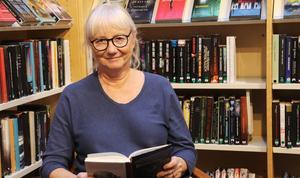 Christina Hallingström är bibliotekarie som jobbar både i Väddö och i Norrtälje.
