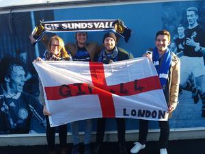 GIF+44, Giffare från London på besök i Sundsvall. Bild: Privat