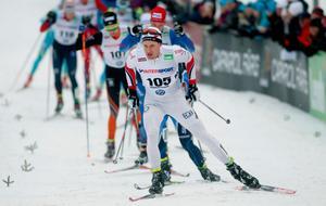 Foto: Mats Andersson/TT'Anders Svanebo under SM -veckan förra året. I år slutade han på en 17 plats i herrarnas masstart.