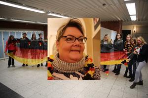 Läraren Sofia Diefke har arbetat hårt för att få fler elever intresserade av att läsa tyska i Orsaskolan. Hennes arbete stöds av Tysk - Svenska handelskammaren.