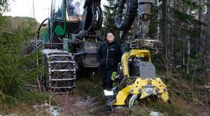 Numera arbetar Jennie åt Tynderö Skog & Mark.