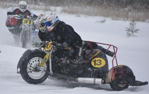 Daniel Andersson/Oscar Westerberg slutade tvåa i sidvagnsfinalen. FOTO: KURT ELIASSON