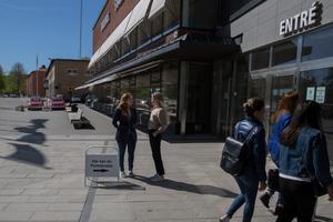 Förtidsröstningen har startat, bland annat i stadshuset. På söndag 26 maj är det val till Europaparlamentet, där Sverige har 20 av 751 platser.