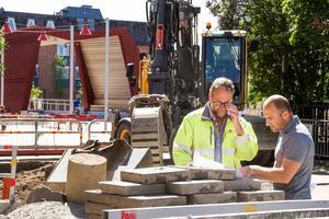 Ombyggnationen av Brogatan ska knyta samman Gärdet med centrum.