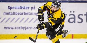 Mattias Beck har gjort näst flest poäng i hockeyallsvenskans historia. Totalt har han gjort 307 poäng, vilket endast är en pinne bakom Jens Jakobs. Foto: Tobias Sterner/BILDBYRÅN