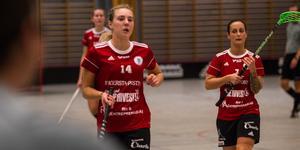 Sofie Eriksson och Evelina Molnar hittade varandra flera gånger under matchen. Eriksson assisterade Molnar två gånger och Molnar bjöd tillbaka i andra perioden.