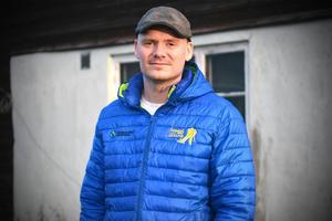 """""""I norra Dalarna har bönderna tuffa förutsättningar. Vi kan producera kött och mjölk, men inte vegetarisk lasagne"""" säger LRF-ordförande Martin Moraeus."""