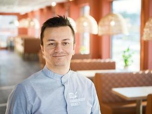 Özcan Kaya, ägare Hamburgerbruket. Foto: Privat.