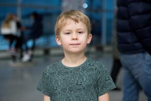 Hektor Forssén, 6 år, elev i förskoleklass, Örnsköldsvik.