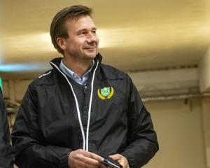 Erik Eriksson, Malungs sportchef.
