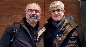 Hakan Aytekin och Sait Yildiz i Södertälje.