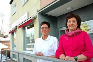 KVINNOR KAN. Lena Blom, LB Friskvård, och Ingela Olsson, Ingela's är två av Älvkarleby kommuns 85 kvinnliga företagare.