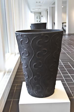 150-årsflöde. Eva-Marie Kothe-Sjöholms keramikurna.