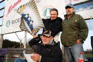 Krister Albrigtsen, Janne Stamfelt och Peter Andersson tror att Piraterna kommer ta hem SM-titeln även i år. Bara de slipper skador.