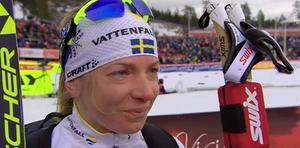 TV + TEXT: Sofia Bleckur i tårar, efter sitt livs bästa insats i sin livs viktigaste tävling.