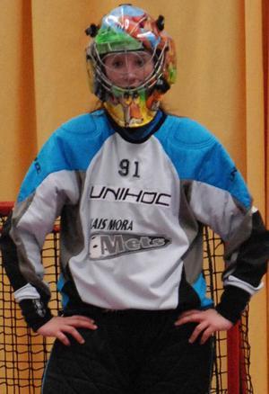 Johanna Holknekt, ny målvakt i IBF Falun. Foto: Jörgen Wåger/Arkiv