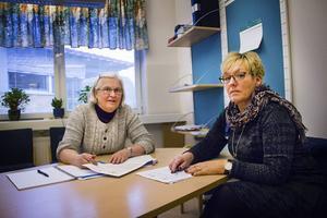 Kerstin Hallonqvist och Ingrid Sundström.