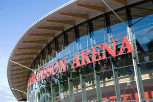 Sandvikens kommun har lagt miljoner på Göransson Arena.