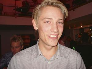 """Jacob Frank, 20, studerande, Gävle:– Pryda, """"Rymd""""."""
