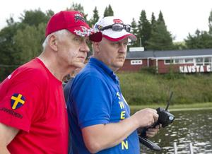 Åke Kronstrand är co-driver åt sonen Jan Kronstrand, som blev världsmästare i klassen hydro i Tyskland i fjol.