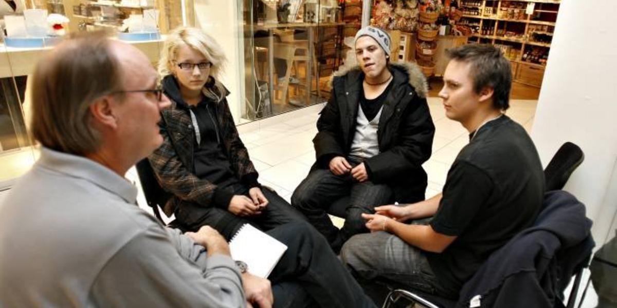 Tre gripna i Hofors misstnkta fr hot och utpressning - Gd
